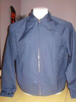 VINTAGE DEADSTOCK CAMPUS NAVY BLUE JACKET classic style LARGE