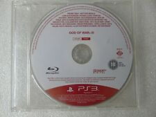 God of War III 3 PS3 PROMO Rare Game PlayStation 3 God of War Promotional