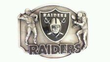 Vintage 1986 RaidersSiskiyouNFL belt buckle 31/10,000