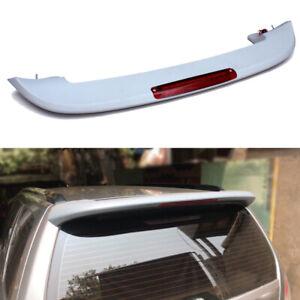 Rear Roof Spoiler Window Wing Lip W/ Light Fit For Subaru Forester 2006-2007