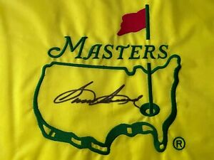 SAM SNEAD Augusta National UNDATED MASTERS FLAG signed autographed JSA RARE WOW!