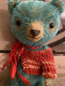 Pussman Bears OOAK artist bear by Danielle Roothooft