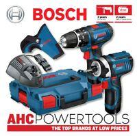 Bosch GSB 12 V-15 LI Combi Hammer Drill+GDR 12 V-105 Impact Driver Twinpack