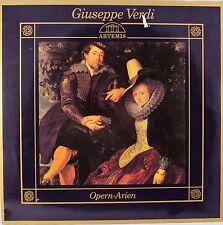 *-Vinyl-Schallplatte- Giuseppe VERDI - Opern-ARIEN- Rigoletto-OTELLO-La Traviata