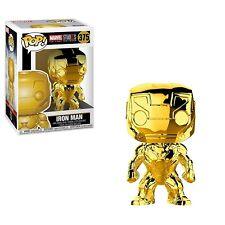 Funko - POP Marvel: MS 10 - Iron Man (Chrome) Brand New In Box