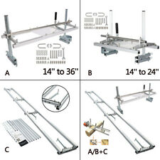 """Portable Chainsaw Mill Planking Milling 14 to 24""""/36"""" or 9Ft Milling Rail System"""