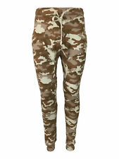 SALE £12.50 // King Kouture Skinny Fit Camo Joggers Bottoms in Stone Camouflage