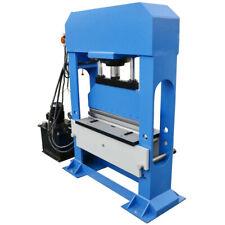 150 Ton Electric Hydraulic Press Brake Bender V Block Bending Machine 3 Phase