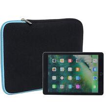 """Slabo Tablet Tasche für Apple iPad Pro 9,7"""" Hülle Case Neopren TÜRKIS / SCHWARZ"""