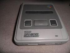 Unidad De Consola Super Nintendo Snes oficial sólo-probado y-en muy buena condición en funcionamiento