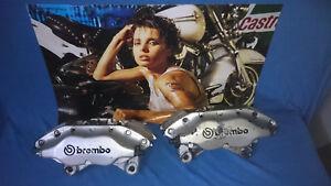 * * VA Bremssättel von Brembo für Fiat Coupe 20V Turbo, Bremsenumbau * *