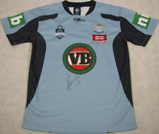 ANDREW JOHNS Hand Signed NSW Football Jersey Immortal + Photo Proof
