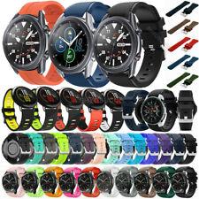 For Samsung Galaxy Watch 3 45mm 46mm Gear S3 Silicone Wrist Band Strap Bracelet