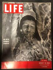 Life Aug 20 1951 400 Meter Swimmer Champion