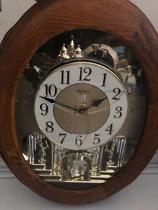 small world rhythm wall clock