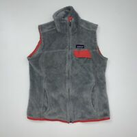 Women's Patagonia Vest Size Small Gray Pink