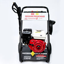Jet Washer 3000 PSI 6.5HP Petrol Power Pressure Washer 200 BAR