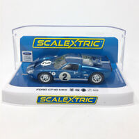 Scalextric C3916 Ford GT40 MKII 1967 12 Hour of Sebring #2 1/32 Slot Car