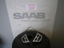 Saab NG93 Chrome steering wheel controls (2007-2011) 12764171