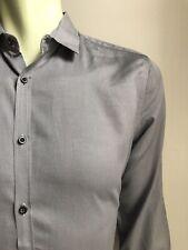 J.Lindeberg Shirt, Steely Gray, Medium, Slim Fit, Exc Condition