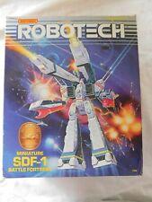 Vintage 1985 Matchbox Robotech Miniature SDF-1 Battle Fortress model #7120