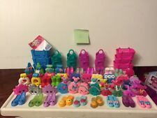 Huge Lot  47 Of 56 McDonald's Shopkins & 14 Baskets/Bags  Almost Complete Set!