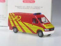 TOP: Wiking Mercedes Sprinter Kasten Feuerwehr ELW in OVP