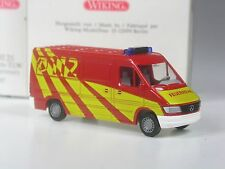 TOP: Wiking Mercedes Sprinter Kasten Feuerwehr ELW in OVP