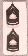 Enlisted Rank Pin:  Army Master Sergeant - subdued pair