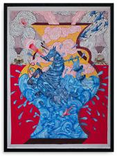 Andrew Schoultz Seahorse Life Vessel Ocean Print Beau Stanton Pichiavo Cleon Pet