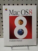 Mac OS 8 Installation Manual Vintage Computing COLLECTIBLE MACINTOSH APPLE