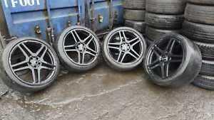"MERCEDES-BENZ S320 LIMOUSINE, Set of 4,  20"" AMG Alloy Wheels & Tyres 255/35/20"