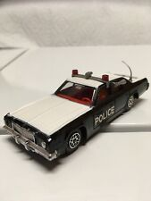 Dinky 244R Plymouth Gran Fury Police 1979 Black/White Made in England Meccano