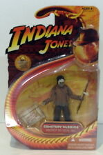 "Hasbro 4"" Figure Indiana Jones Cemetery Warrior Kingdom Ot The Crystal Skull"