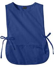 Edwards Garment Adult Side Tie Closure Patch Pocket Cobbler Apron. 9006
