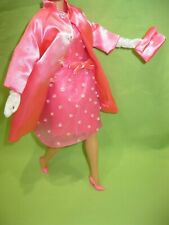 Audrey Hepburn BARBIE Doll BREAKFAST AT TIFFANY'S Pink Princess OUTFIT Dress +