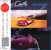 SUZI QUATRO MAIN ATTRACTION CD MINI LP OBI Tuckey Andrews Martin oop old stock