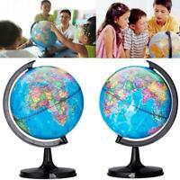 360° Rotating Mini Globes Earth Map Globe World Geography Desk Home Decorat J9R8