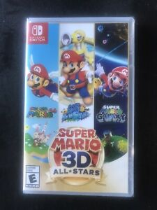 BRAND NEW🔥SUPER MARIO 3D ALL STARS FOR NINTENDO SWITCH! 🌟WOW🌟