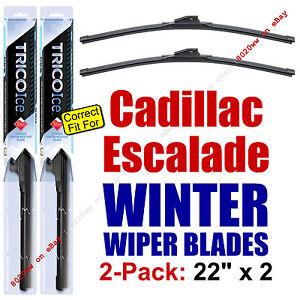 WINTER Wiper Blades 2-Pack Premium - fit 2002+ Cadillac Escalade - 35220x2