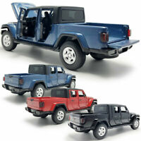 1:32 Jeep Wrangler Gladiator Pickup Truck Model Diecast Vehicle Toy Collection
