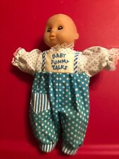 Vintage Doll Baby Tummy Talks Uneeda Toys With Original Outfit