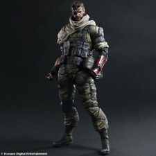 Metal Gear Solid V Ground Zeroes Play Arts Kai Venom Snake First Limited Edition