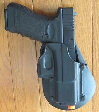 Plastic Paddle Holster GL2 for Glock Pistol 17, 19, 22, 23, 31, 32, 34