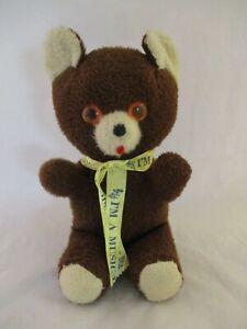 Vintage A&L Novelty CO Animal Playland 50's Stuffed Musical Teddy Bear (25)