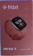 Fitbit Versa 3 Health & Fitness Smartwatch Pink/Gold BRAND NEW!! Factory Sealed