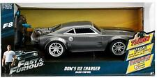 Fast & Furious Dom's Ice Charger F8 Jada Remote Control Car 1:16 Turbo Boost 2.4