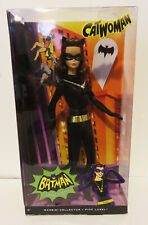2013 DC Batman Classic TV Series CATWOMAN Pink Label BARBIE Julie Newmar MIB