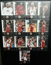 13 card lot 2004-2005 LEBRON James #1 - #13, Upper Deck Rivals, 2nd year 👑goat