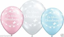 Qualatex Christening Oval Party Balloons